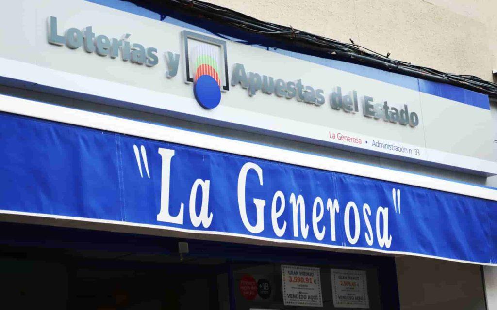 Lotería La Generosa Murcia